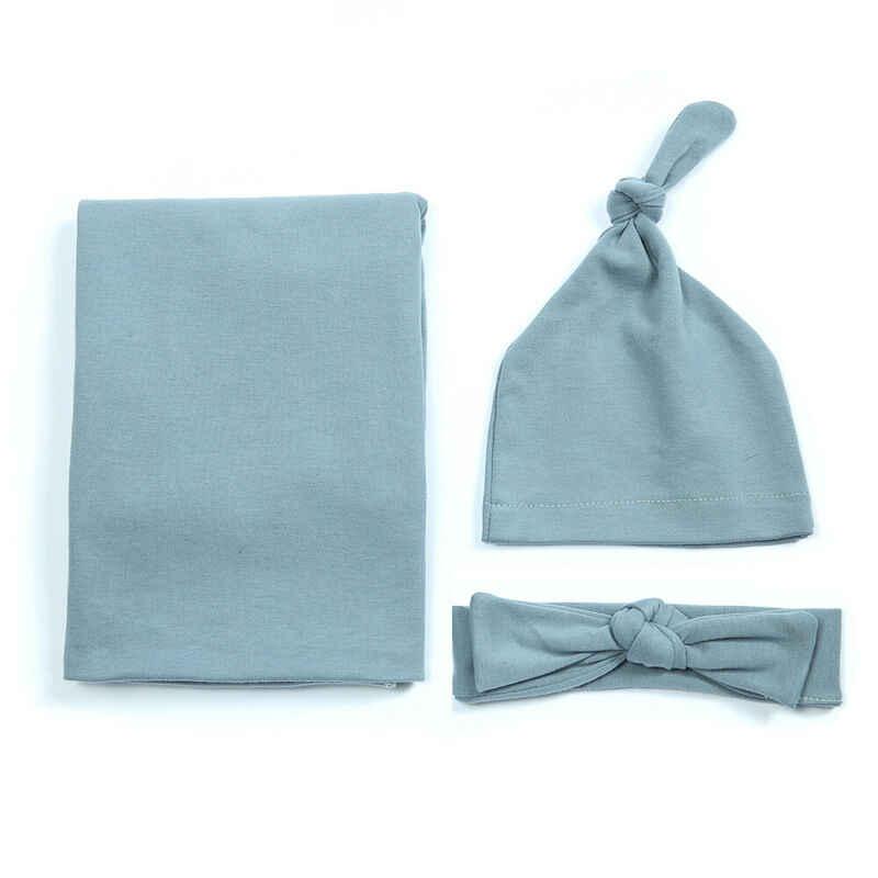 Pudcoco 2019 Yenidoğan Bebek Kız Erkek kundak battaniyesi Battaniye Uyku Tulumu + Kafa + Şapka Kıyafetler Seti Pamuklu Uyku Battaniye bebek