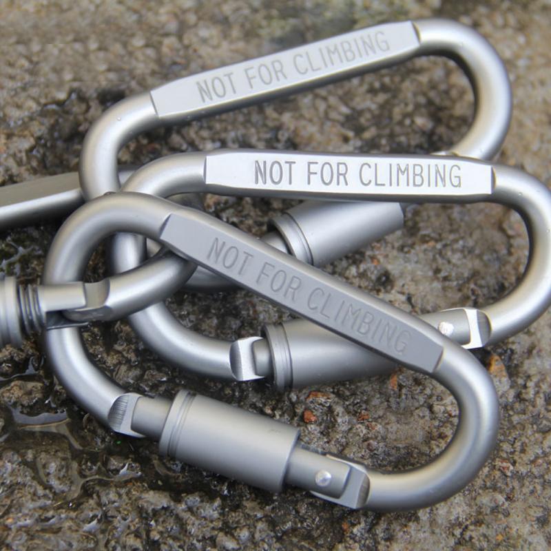 1 Piece Pro Outdoor Climbing Aluminum Alloy Travel Kit Camping Equipment Alloy Aluminum Survival Gear Mountaineering Hook