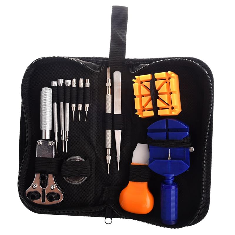 13pcs Repair Tool Kit Maintenance Key Fob Watch Case Opener Watchmaker