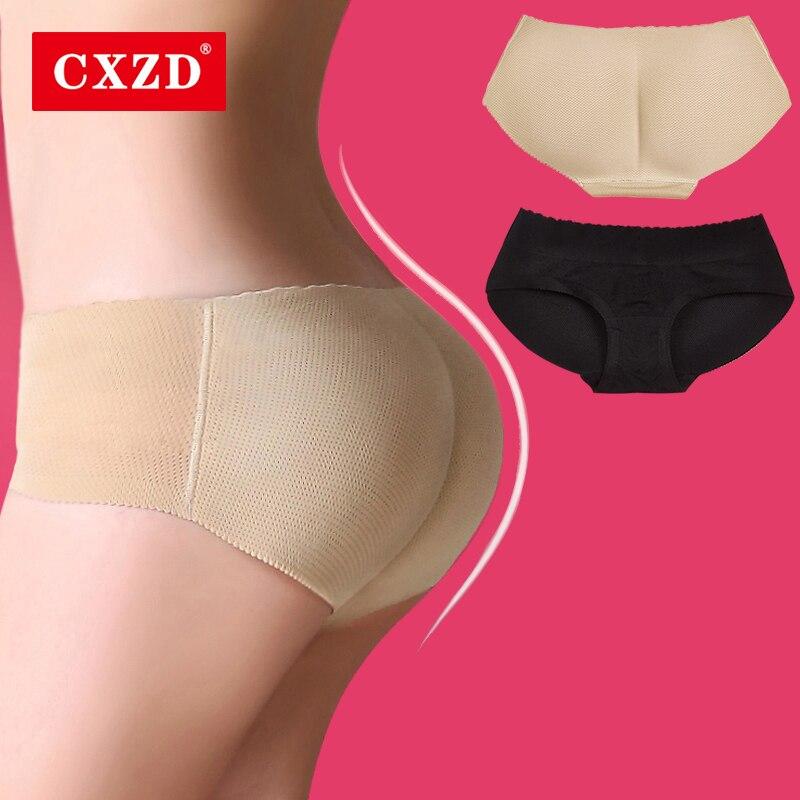 CXZD Women Padded Shaper Push Up Pants Butt Hip Enhancer Butt Lifter Fake Hip Shapwear Underwear Briefs Buttock Shapers
