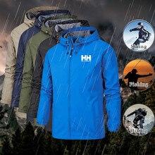 Men spring autumn Windproof waterproof Thin jackets Helly Ha