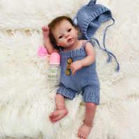 Haute qualité réaliste silicone souple vinyle corps complet bébé bebes reborn poupée enfant en bas âge bain jouet imperméable anniversaire cadeau de noël
