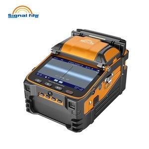 Image 2 - AI 9 Automatic SM&MM Multi language Intelligent FTTH Fiber Optic Splicing Machine Optical Fiber Fusion Splicer