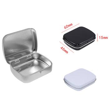 Przenośne leki medyczne Tablet 7 dni podróży granulki pojemnik na pudełko gospodarstwa domowego Organizer na leki metalowe pojemniki na pigułki rozgałęźniki tanie i dobre opinie CN (pochodzenie) aluminum pill box metal