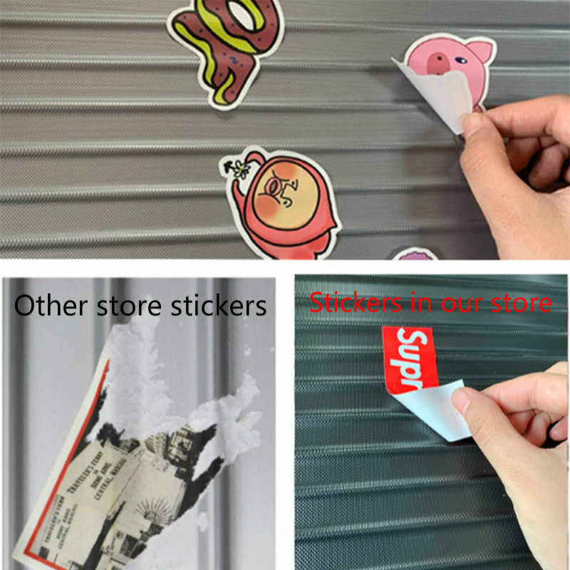 50 pçs personalizado adesivos papel mario graffiti super mary papelaria adesivo adesivi personalizzati impermeável removível tz062g