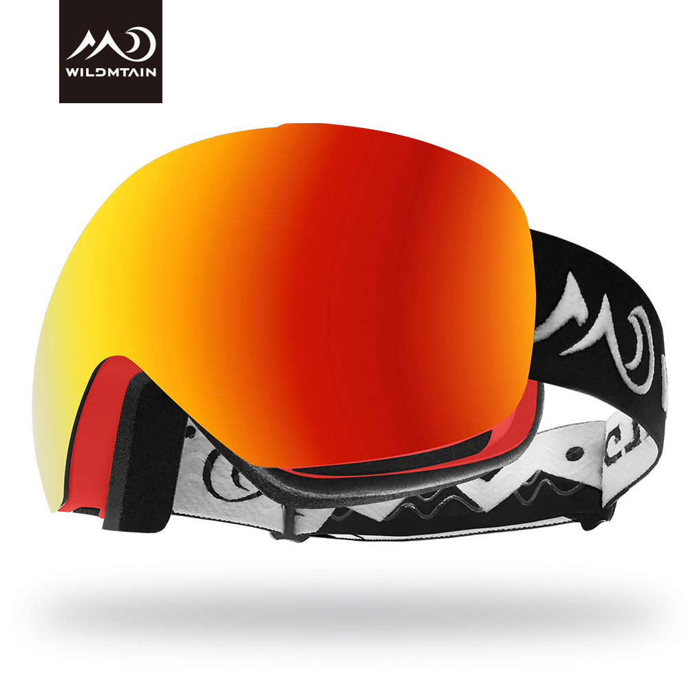WILDMTAIN Snowboarding Skiing Goggles, Anti-fog And UV400 Protection, Windproof Over Glasses Snow Goggles For Women Men Youth