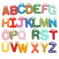 Детские деревянные игрушки с цифрами  красочная Когнитивная доска для детей  детские игрушки для малышей  изучения букв для детей  для детей