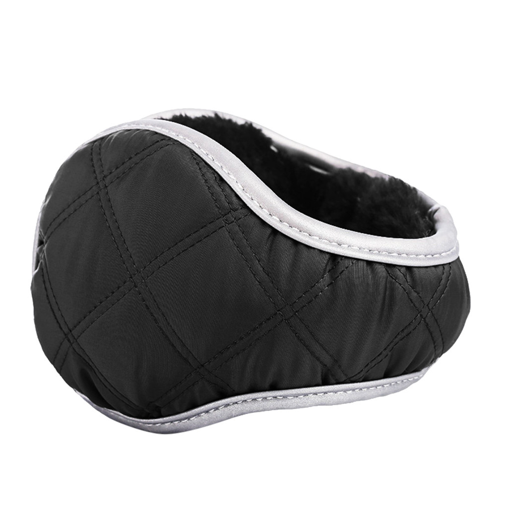 New Solid Color Ladies Earmuffs Fur Headphones Unisex Foldable Winter Earmuffs Winter Reflective Ear Warmer Plush Headgear