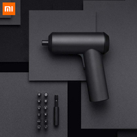 Xiaomi mijia sem fio chave de fenda recarregável 3.6 v 2000 mah chave de fenda elétrica com 12 peças s2 bits de parafuso para uso doméstico inteligente