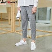 JackJones Men's Fashion Style Business Causal Slim Fit Plaid