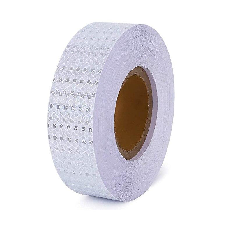 Купить белая самоклеющаяся клейкая наклейка автомобильная светоотражающая
