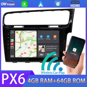 """9"""" PX6 4G+64G Car Multimedia Player Android 10 For VW Volkswagen Golf 7 MK7 2013-2020 Right Hand Radio GPS Carplay DSP Auto HDMI(China)"""