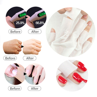 1/2packs Moisturizing Hand Mask Exfoliating Tender and Smooth Gentle Hands Care Hand Mask Cream for Hand Gloves Skin Care 3