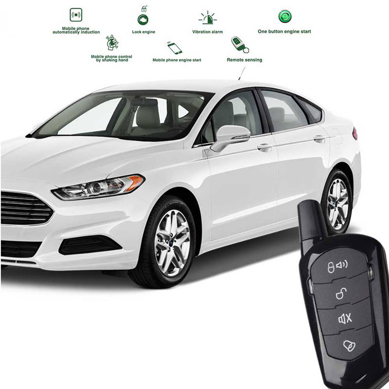 car alarm Automatic Trunk Opening remote start for jeep keyless entry system central locking with remote start start stop button