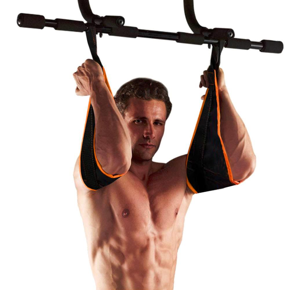 The Waist Shaping And Abdominal Muscle Training Belt Arms Hanging Belt Healthy Abdomen Building Equipment Straps Legs Lifting
