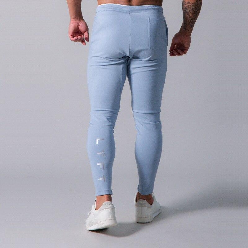 Japan&UK 2020 Autumn Men Gym Training Jogging Pants Joggers Slim Fit Sweatpants Cotton Workout Running Tights Sport Trousers