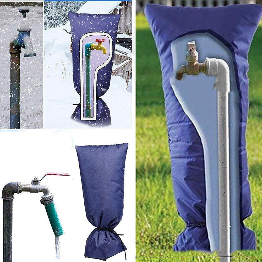 Cubierta cálida para jardín al aire libre, bolsa de protección para plantas Arden, protección contra heladas Oxford de tela, Protector para grifo de invierno, Protector de parabrisas para el hielo