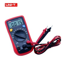 цена на UNI-T UT136B Mini Auto-ranging Handheld Digital Multimeters AC/DC Current Voltage Resistance Multi Testers
