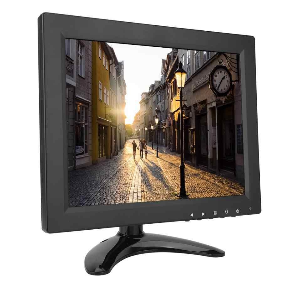 9.7 Inch 1024*768 IPS Benar Warna Keras Layar Monitor HD LCD Komputer PC CCTV Monitor Display Dukungan HDMI /VGA/BNC/AV Input