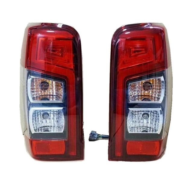 Luces LED traseras, lámpara de luz trasera con Luces de Freno LED aptas para MITUBISHI TRITON L200, luces traseras para camioneta de alta versión 2019 +