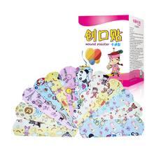 120 pçs/caixa dos desenhos animados band-aid bonito mini crianças respirável à prova dwaterproof água bandagem médica ok ataduras remendo hemostático