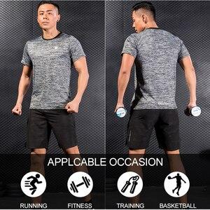 Image 2 - Pantalones cortos FANNAI para gimnasio, pantalones cortos deportivos para hombre, pantalones cortos para correr, pantalones cortos deportivos de secado rápido para hombre