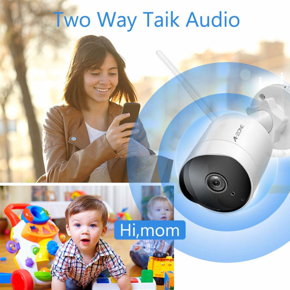 Security IP Camera 1080P 2 0MP 3MP ONVIF Outdoor Waterproof H 264 IP66 CCTV Wifi Camera 2 4G HD Surveillance Home Night Vision in Surveillance Cameras from Security Protection