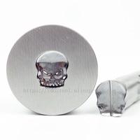 Skull Break line 11.2*9.8mm Milk Tablet Die 3D Punch Press Mold Candy Punching Die Calcium Tablet Punch Pill Press Die