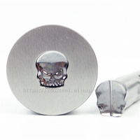 Skull Break line 11.2*9.8mm Milk Tablet Die 3D Punch Press Mold Candy Punching Die Calcium Tablet Punch Pill Press Die