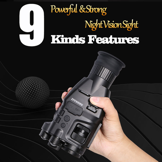 Multi-Functional 850nm+940nm Double Infrared Digital Night Vision Aim Sight Camera 24X Zoom Hunting Riflescope for Day & Night 5