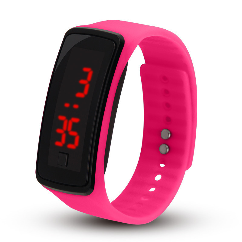 Hot Style  Children Watch  Student Second Generation Bracelet Led Electronic Watch Manufacturers  Fashion Kids Watches