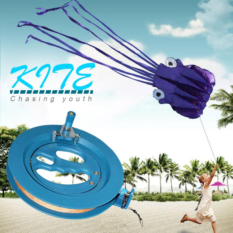 HOT!!!Portable Kite Line String Reel Outdoor Round Flying Grip Wheel 16/18cm Ballbearing Handle Accessories Kite Line Winder