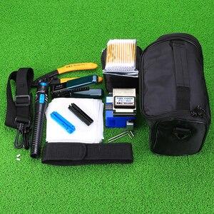 Image 2 - KELUSHI 13 Pcs/Set FTTH Fiber Optic Tools Kit with FC 6S Cleaver and Plastic 5mW Visual Fault Locator Wire Stripper Tool