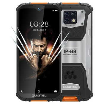 "OUKITEL WP6 IP68 Waterproof Smartphone 6.3"" 6GB RAM 128GB ROM MT6771T Quad Core Android 9.0 10000mAh 48MP Mobile Phone"