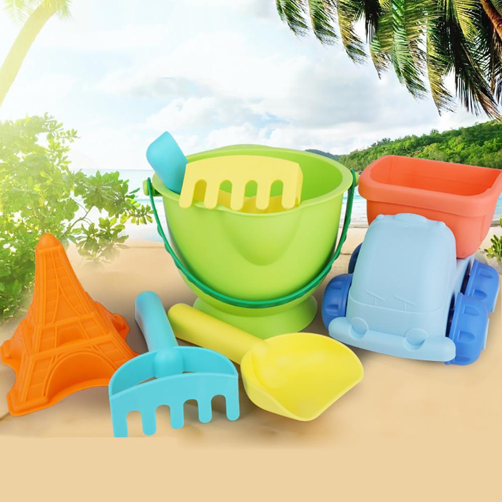 5Pcs/Set Summer Outdoor Beach Sand Dredging Play Children Water Bath Fun Toys