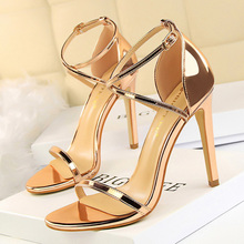 BIGTREE Shoes Extreme High Heels Female Stiletto Sexy Women