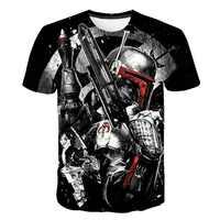 T shir2019 nuevas camisetas premium para hombre Star Wars trajes de dibujos animados camisetas de película de harajuku adulto dart