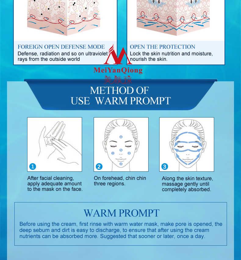 Emulsão hidratante profunda ácido hialurónico hidratante creme para o rosto cuidados com a pele clareamento anti winkles elevador firming beleza tslm1