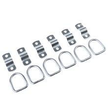 6 d образных колец 142x181 в стальных стяжных якорей для грузовых