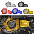 CNC Yamaha Aerox155 NVX155 NVX 155 125 Aerox 155 2015-2019 20 motosiklet parçaları büyük motor kapağı koruma muhafızları koruyucu