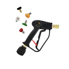 High Pressure Gun With Quick Connect Color Nozzle Kit For Karcher / Nilfisk Car Wash