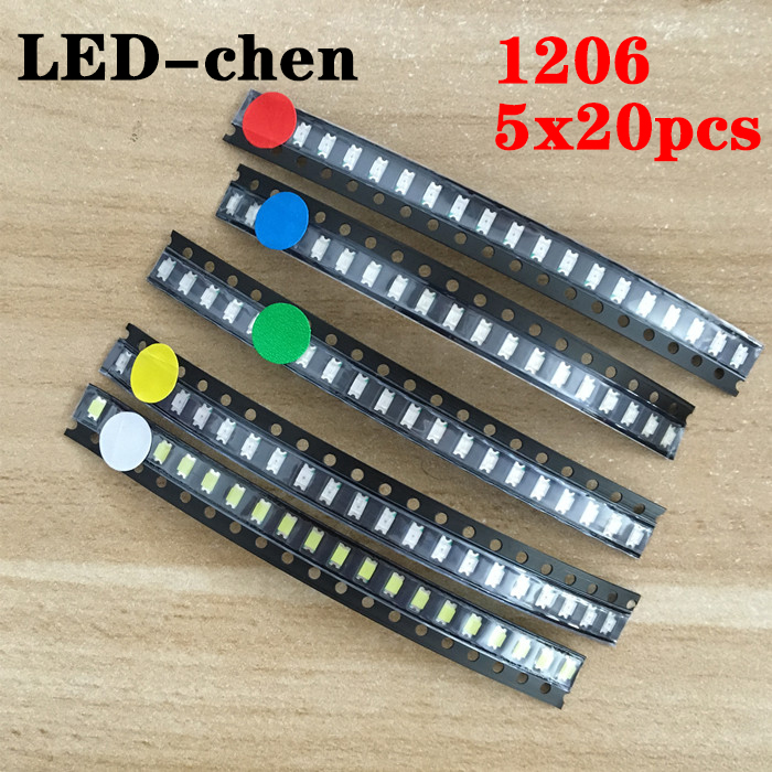 *stock clearance*0805 Ultra Bright SMD White LED 500pcs//lot