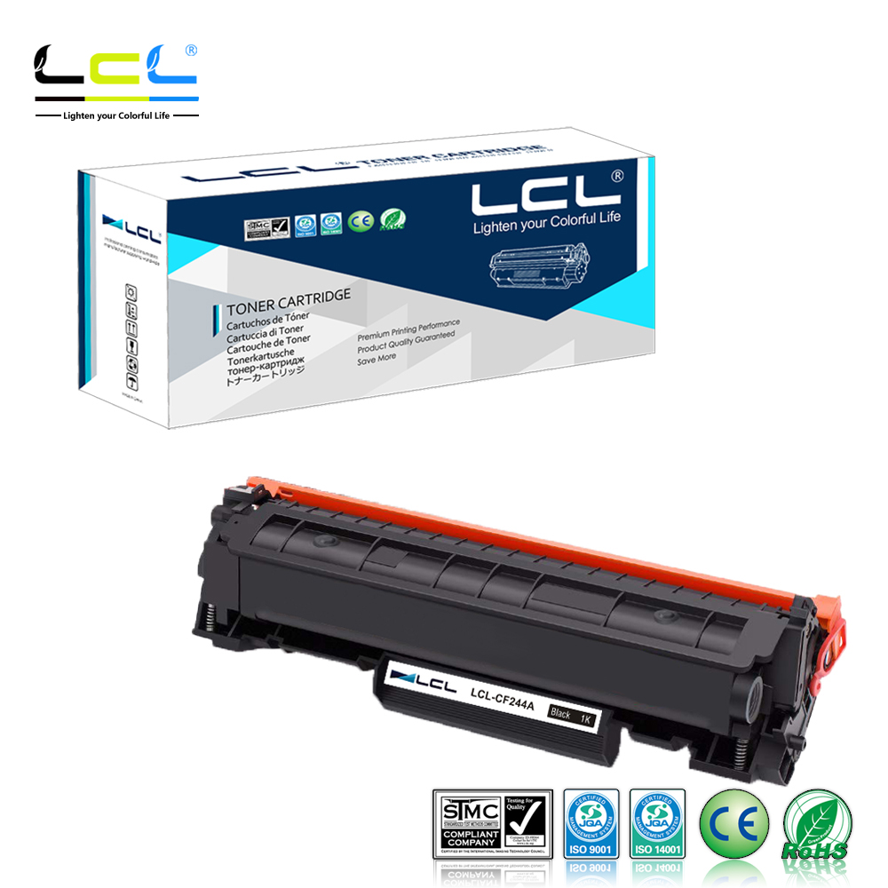 LCL 44A CF244A  1000 Pages (1-Pack )Black Toner Cartridge Compatible For HP LaserJet Pro M15a M15  M16 MFP M28 M29