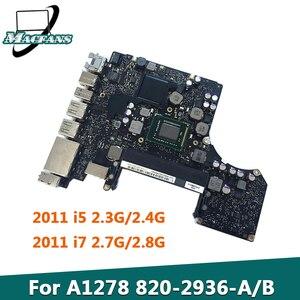 Протестированная оригинальная материнская плата A1278 820-2936-A/B Для MacBook Pro 13