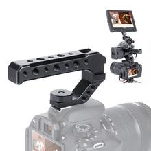 UURig R005 DSLR камера с верхней ручкой металлическая ручка для сыра с тремя адаптерами для холодного башмака универсальная рукоятка