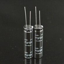 10 Chiếc Mới Rubycon 400V82UF 12.5X45 Cxw Series 105 Độ 82UF 400V LCD Điện Dung Bán 82 UF/400 V