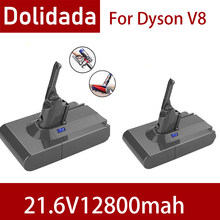 Nowa bateria 12800mAh 21.6V dla baterii Dyson V8 dla Dyson V8 Absolute /Fluffy/Animal/ Li-ion odkurzacz akumulator