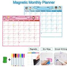 Магнитный Еженедельный ежемесячный планировщик календарь доска