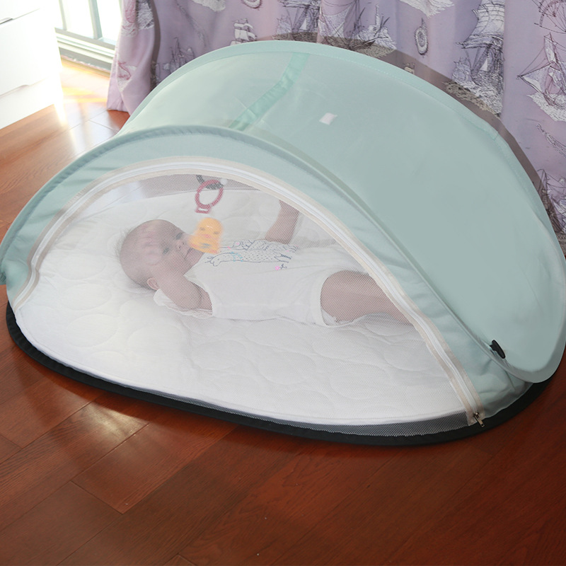 Baby Crib Portable Travel Cot Multifunctional Mosquito Net Sun Protection Newborn Bed Comfortable Soft Toddler Sleeping Bassinet