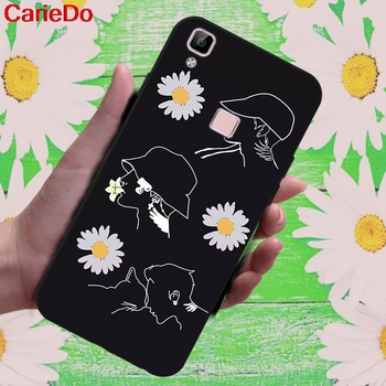 Carie-Daisy 1 Soft TPU Case Cover For Vivo IQOO S1 Y7S Z5 V17 NEO Z1X Y19 U3 Y5S image